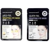 Фольгированные патчи для области вокруг глаз MBeauty Foil Wrapping Eye Mask