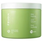 Пилинг-диски с зеленым виноградом Frudia Green Grape Pore Clear Peeling Pad