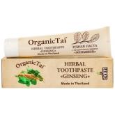 Натуральная паста для зубов с женьшенем Organic Tai Herbal Toothpaste