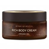 Насыщенный крем для тела с органическим маслом арганы Zeitun Ritual of Revival Rich Body Cream Argan Oil
