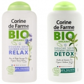 Крем-гель для душа Био Corine De Farme Bio Organic Shower Cream Relax