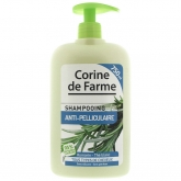 Шампунь для чувствительной кожи головы против перхоти Corine De Farme Anti-Pelliculaire Shampooing