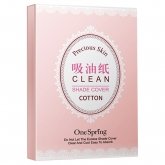 Салфетки матирующие для лица One Spring Clean Shade Cover
