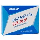 БАД Биокор БАД к пище Магний+B6