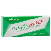 БАД Биокор БАД к пище Глицин с витаминами В1 и В6