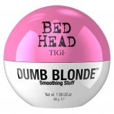 Текстурирующий крем для укладки волос, блеска и защиты от влаги TIGI Bed Head Dumb Blonde Smoothing Stuff