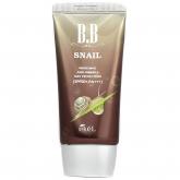 ББ крем антивозрастной с улиточным муцином Ekel BB Snail Whitening Anti-Wrinkle Sun Protection SPF50+ PA+++