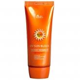 Солнцезащитный крем Ekel UV Sun Block Waterproof With Aloe And Vitamin E SPF50+ PA+++