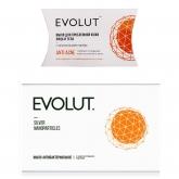 Мыло Evolut мыло антибактериальное для лица и тела с наночастицами серебра