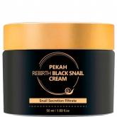 Крем с муцином черной улитки Pekah Rebirth Black Snail Cream
