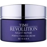 Ночной антивозрастной крем для лица Missha Time Revolution Night Repair Perfect Master Cream