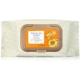 Очищающие салфетки с календулой  The Saem Healing Tea Garden Calendula Cleansing Tissue-60