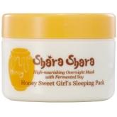 Ночная маска для лица с медом Shara Shara Honey Sweet Girls Sleeping Pack