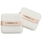 Спонж для пудры The Face Shop Daily Beauty Tools Square Flocked Puff