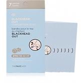 Пластыри от черных точек The Face Shop Blackhead Out Charcoal Nose Strip