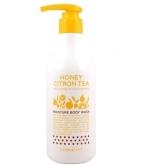 Гель для душа The Face Shop Honey Citron Tea Moisture Body Wash