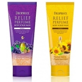 Скраб для тела Deoproce Relief Perfume Body Scrubwash Purple