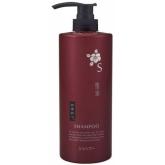 Шампунь с экстрактом камелии для сухих и поврежденных волос Kumano Cosmetics Shiki-Oriori Shampoo