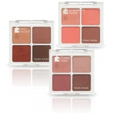 Матовые тени с устойчивым слоем Holika Holika Piece Matching Shadow Palette Palette