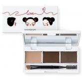 Набор для макияжа бровей Karadium Eyebrow Cake Pucca Edition