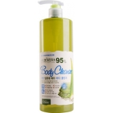 Гель для душа с Алоэ Вера White Cospharm White Organia Good Natural Aloe Vera Body Cleanser