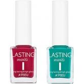 Укрепляющий цветной лак для ногтей A'pieu Lasting Nails