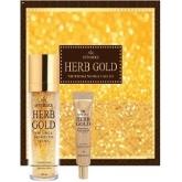 Набор уходовый антивозрастной Deoproce Estheroce Herb Gold Whitening And Wrikle Care Essence And Eye Cream Special Set