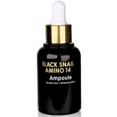 Сыворотка с муцином и аминокислотами Eyenlip Black Snail Amino 14 Ampoule