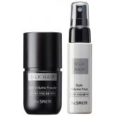 Набор для тонирования и укладки волос The Saem Silk Hair Style Volume Powder Set