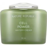 Дневной крем для лица Nature Republic Cell Power Watery Cream
