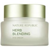 Крем для век с экстрактами трав Nature Republic Herb Blending Eye Cream