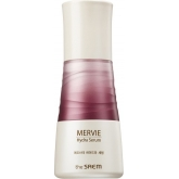 Антивозрастная сыворотка с розовым планктоном The Saem Mervie Hydra Serum