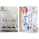 Натуральная маска для лица с экстрактом жемчуга Japan Gals Natural Pearl Mask