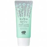 Солнцезащитный крем с ферментами Whamisa Organic Flowers Sun Cream SPF14 PA++