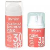 Солнцезащитный крем для тела Levrana Календула 30 SPF Pink