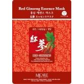 Листовая маска с женьшенем Mijin Cosmetics Red Ginseng Essence Mask