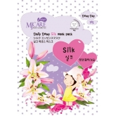 Шелковая маска Mijin Cosmetics MJ CARE Daily Dewy Silk Mask Pack