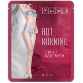 Антицеллюлитный пластырь Missha Hot Burning Perfect Body Patch