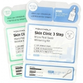 Система по уходу за кожей лица Tony Moly Skin Clinic 3 Step Micro Peel Swab Kit