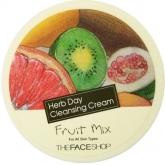 Очищающий крем The Face Shop Herbday Cleansing Cream Fruit Mix