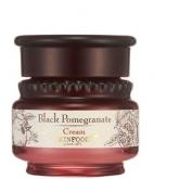 Антивозрастной крем для лица с соком граната Skinfood Black Pomegranate Cream