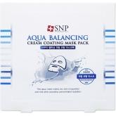 Глубокоувлажняющая маска для лица SNP Cream Coating Mask Pack