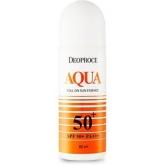Эссенция солнцезащитная роликовая Deoproce Aqua Roll On Sun Essence SPF 50+ PA+++