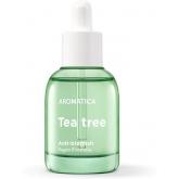 Масло для кожи лица с экстрактом чайного дерева Aromatica Tea Tree Green Oil