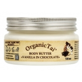 Крем-масло для тела с ароматом ванили и шоколада Organic Tai Body Butter Vanilla in Chocolate