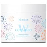 Осветляющий массажный крем Enough Collagen Whitening Premium Cleansing And Massage Cream