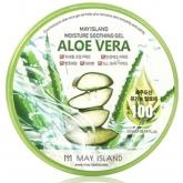 Универсальный гель с 100% алоэ вера May Island Aloe Vera Pure 100% Soothing Gel