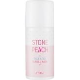 Пузырьковая маска для очищения пор A'Pieu Stone Peach Pore Less Bubble Mask