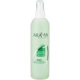 Косметическая вода c экстрактом мяты Aravia Professional Water Cosmetic Post-epil