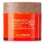 Укрепляющая ночная маска  The Saem Urban Eco Harakeke Firming Seed Sleeping Pack